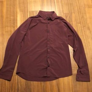 Men's Lululemon button down shirt